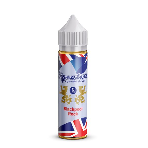 Signature E-liquid - Blackpool Rock
