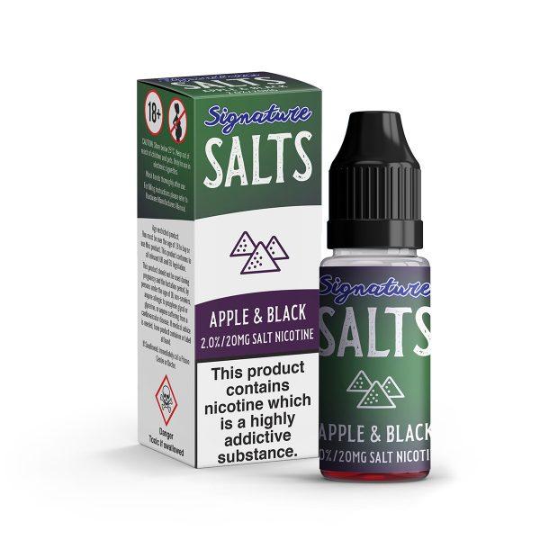 Signature Salts - Apple & Black