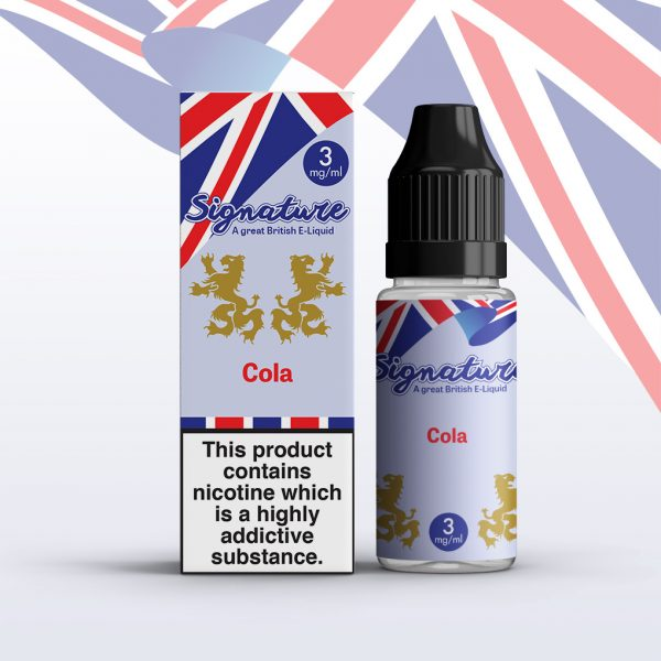 Signature 10ml - Cola flavour