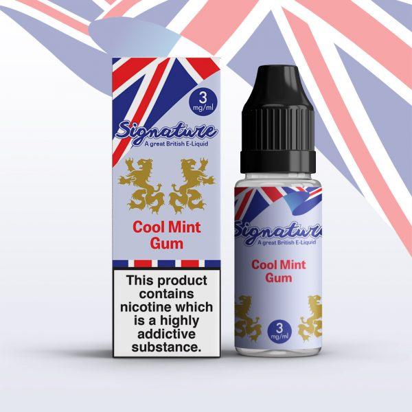 Signature 10ml - Cool Mint Gum flavour