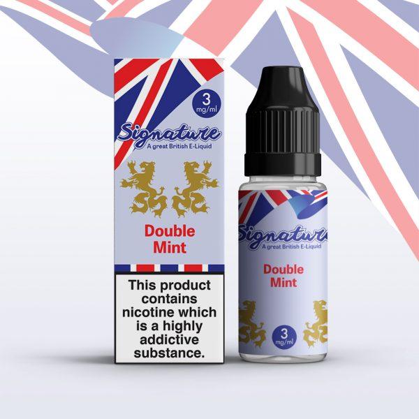 Signature 10ml - Double Mint flavour