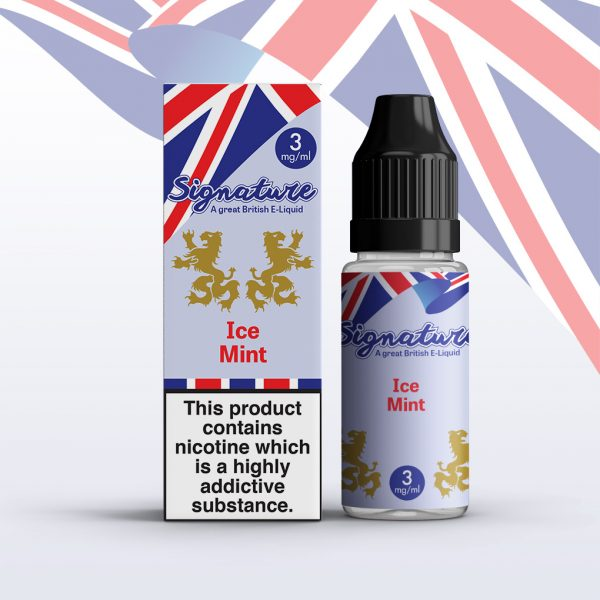 Signature 10ml - Ice Mint flavour